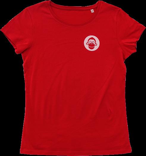 T-Shirt - Mann - rot - XL